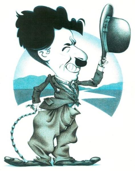 ChaplinCaricature